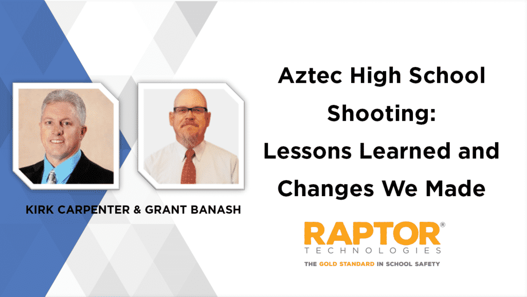 Aztec High School Shooting: Lessons Learned and Changes We Made