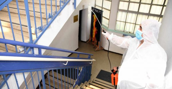 k-12 covid-19 school cleaning